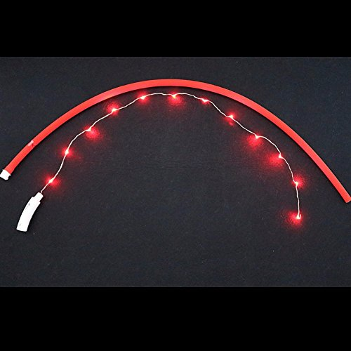 iiniim Haustier LED Halsband LED-Leuchthalsband für Hunde und Katzen Rot Einheitsgröße - 4