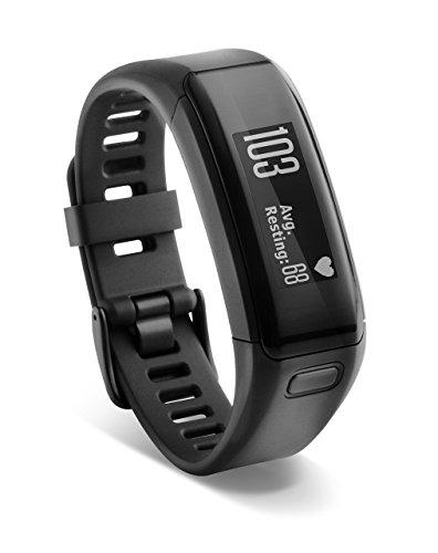 Garmin Vivosmart Activity Tracker mit intelligenter Benachrichtigung und Handgelenks-Pulsmesser
