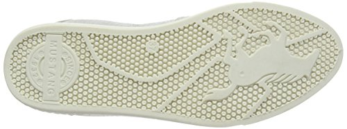 Mustang 1217402, Chaussures Slip-On Femme Blanc Cassé (203 Ice)