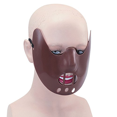Bristol Novelty PM116Hannibal Maske, Braun, ONE SIZE