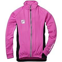 Elite Cycling Project Sala manga larga Mujer Chaqueta Ciclismo cálido ciclismo Jersey, mujer, color rosa, tamaño small