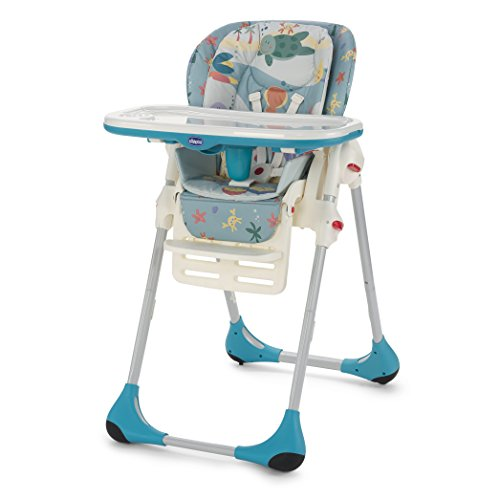 "Preisvergleich Produktbild Chicco Polly 2-in-1 Hochstuhl / Kinderstuhl, Design: ""Sea Dreams"""