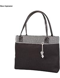 506d56f3ea Rayher 6401201 manici per borsa o bag, in ecopelle, 50,5 x 2
