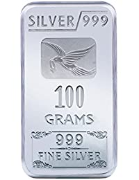 Joyalukkas 100 grams 999 Silver Bar
