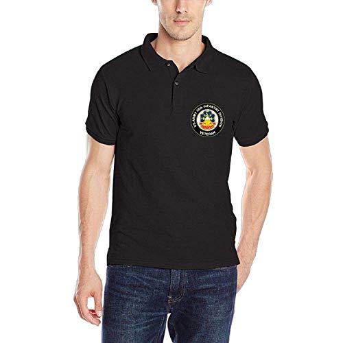sunyly US Army 38th Infantry Division Einheit Crest Veteran Herren Classic Schnelltrocknendes Golfpoloshirt, L Pixel-10 Einheiten