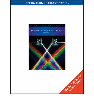 [(Principles of Instrumental Analysis)] [ By (author) Douglas A. Skoog, By (author) Stanley R. Crouch, By (author) F.James Holler ] [December, 2006]