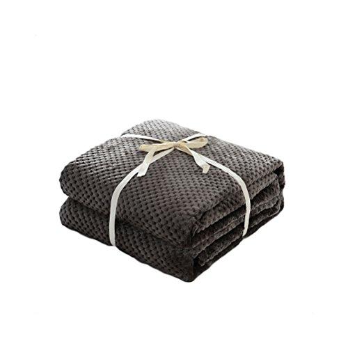 HomeMiYN Flanell Fleece Bettdecken Decke Outdoor Superweiches Werfen Sofa Luft Decke Warmer thermischer Schlafraum Abdeckung -
