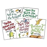 Colin West Pack - 5 Children books collection RRP £24.95 (Not Me, said the Monkey, Pardon said the Giraffe, Have You Seen the Crocodile, Go Tell It to the Toucan, Hello Great Big Bullfrog)
