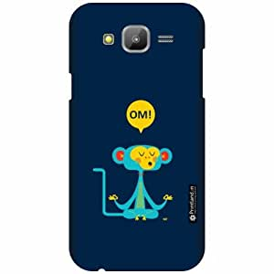 Printland Designer Back Cover For Samsung Galaxy J5 - Feather Cases Cover