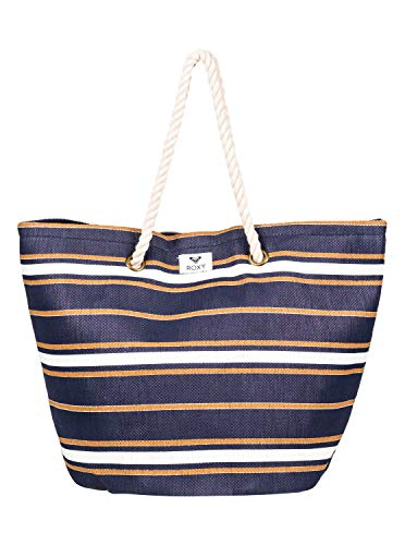 Roxy Damen Sunseeker Tote, Medieval Blue macy Stripe Swim, 1SZ