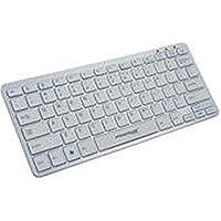 Primux Tech K100W - Teclado con USB, blanco