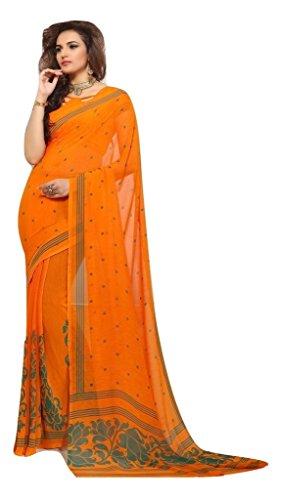 Jay Sares Elegent Designer Saree with abstract and floral prints - Jcsari3009d404c