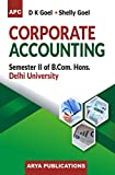 Corporate Accounting B.Com. Hons. Sem II, Delhi University