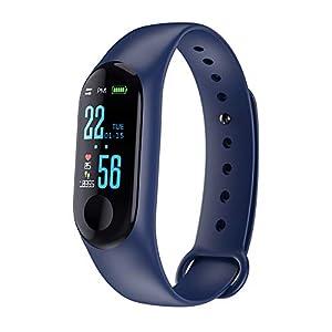Relojes pulsera inteligente, Deporte de la presión Art ¨ ¦ rielle fr ¨ ¦ Quence cardiaco reloj inteligente pulsera de fitness Tracker 3