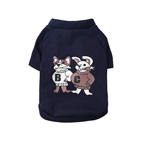 Fox Ziel Kostüm - ZHAS Frühling Herbst Hund Kleidung Baumwolle Haustier Hoodie Kleidung Für Kleine Hunde Bulldogge Warme Hundemantel Jacke Hündchen Kostüm Ropa Perro