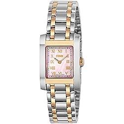Fendi reloj Classico rosa Pearl Dial f702270