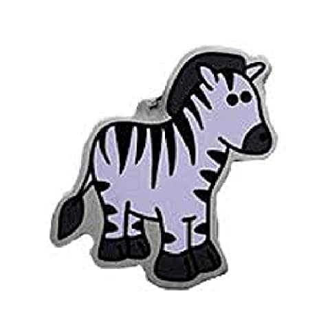 Zelda the Zebra (Travel Bug) For Geocaching - Trackable Tag - Unactivated