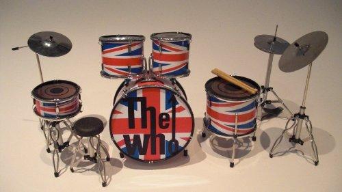 RGM338 The Who Pete Townshend Union Jack Miniaturschlagzeug