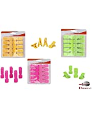 DADDY - G® Non Slip Clothes Hanger Hanging Hooks Grip Clothes Clips Pegs Set (Set of 30 Pcs)