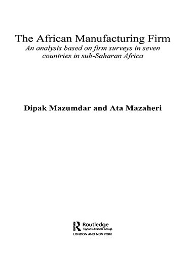 the african manufacturing firm mazumdar dipak mazaheri ata