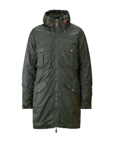 Bench Damen Jacke Parka Mister Grün (rosin) Medium