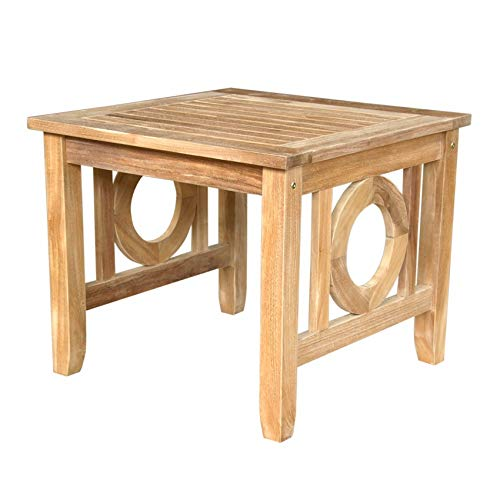 Natsepa Square Side Table - Country Outdoor-beistelltisch