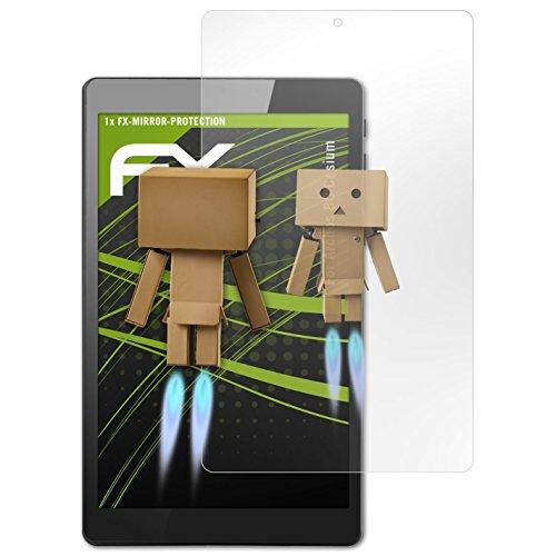 atFolix Bildschirmfolie kompatibel mit Archos 80 Cesium Spiegelfolie, Spiegeleffekt FX Schutzfolie