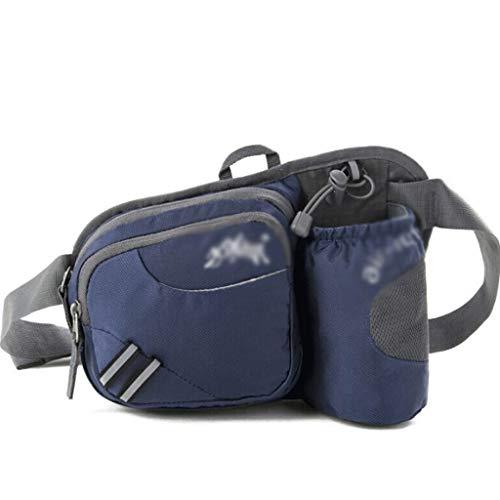 FXXYS Hüfttasche mit Flaschenhalter Wasserabweisend, kann for Wandertouren verwendet Werden