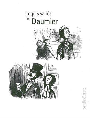 Croquis varis par Daumier