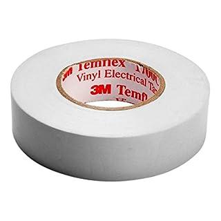 3M Temflex 1500 Vinyl Electrical Tape White 15 mm x 10 m
