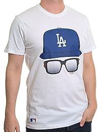 New Era Caps And Glasses T-Shirt ~ LA Dodgers