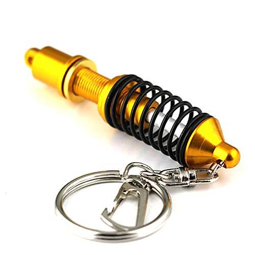 MAyouth Auto-Schlüsselbunde, Auto Auto Tuning-Teile Schlüsselanhänger Stoßdämpfer Keychain Schlüsselanhänger Federdämpfer kreatives Geschenk