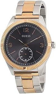 ساعة رسمية للرجال من جيس بهيكل من الستانلس ستيل ومينا ساعة رمادي ونمط انالوج - W0872G2