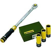 "Proxxon Drehmomentschlüssel MicroClick MC 200, 40 - 200 Nm, 1/2"" + Impact Radmuttern-Satz, 1/2"", 3-tlg. (17, 19, 21 mm)"