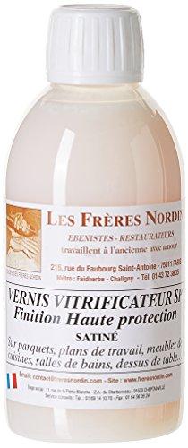 Les Frères Nordin 152517 Vernis Vitrificateur Satine, Multicolore