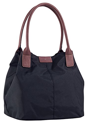 Tom Tailor Acc MIRI 10721 Damen Shopper 44x28x18 cm (B x H x T), Schwarz (schwarz 60)