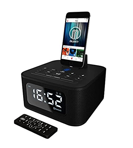 Neptune Speaker Docking Station Bluetooth Alarm Clock FM Radio Lightning