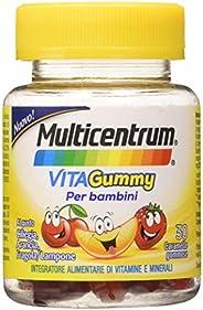 Multicentrum Vitagummy Integratore Alimentare Per Bambini Multivitaminico Completo, Vitamine D, A-Z, Gusto Var