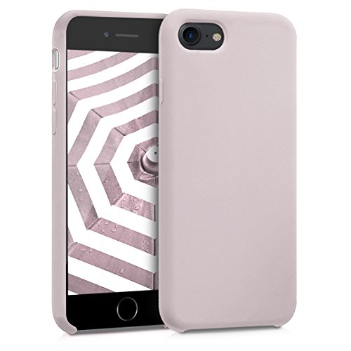 kwmobile Apple iPhone 7/8 Hülle - Handyhülle für Apple iPhone 7/8 - Handy Case in Helltaupe