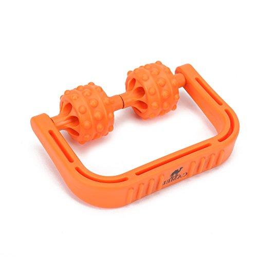 CAMEL Muskel Roller, Faszien & Cellulite Blaster Remover Selbstmassage Roller Stick mit Triggerpunkt Bälle für Muskelkater