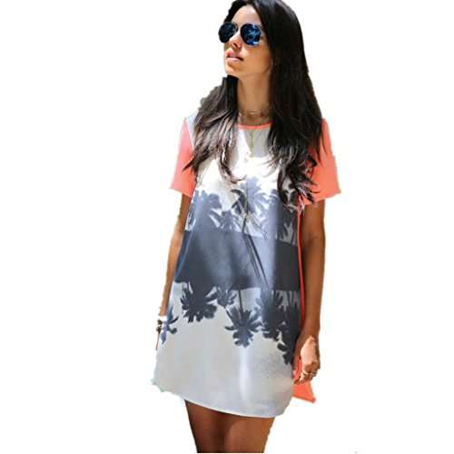 Sommer t shirt kleider