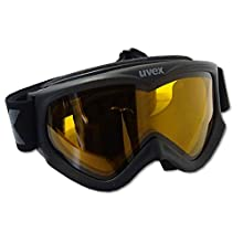 Uvex Goggles F1 Somo, Unisex adult, Black, one size