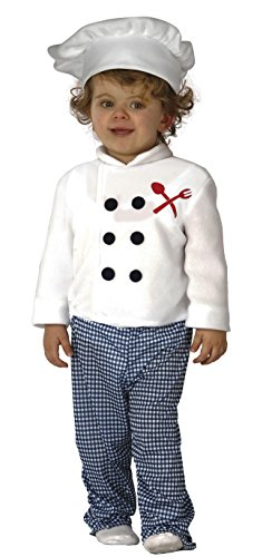 Koch-kostüm Baby (Guirca–Kostüm 12–24Monate Koch Baby, U (83307.0))