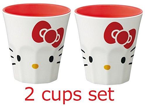 [2 tasses/Mugs ensemble !! ] Skater Sanrio Hello Kitty tasse/Mug Coupe en mélamine 270ml MTB2 importée du Japon