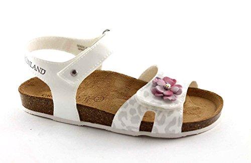 Grünland DEHA SB0451 ??31/35 bébé blanc sandale larme fleur Bianco