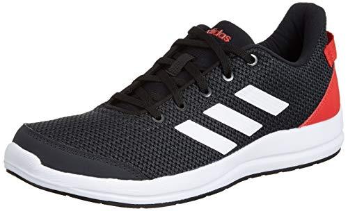 Adidas Men's Glick M Carbon/ACTRED/CBLACK/FTWW Running Shoes-9 UK/India (43 EU) (CK9520_9)