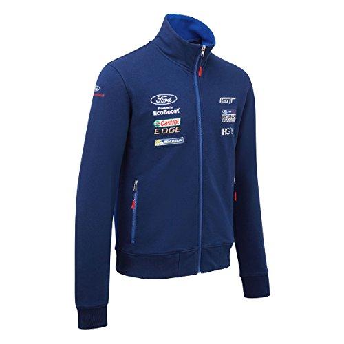 ford-motorsport-mens-sweatshirt-zull-zip-jumper-wec-ford-gt-ganassi-racing-team