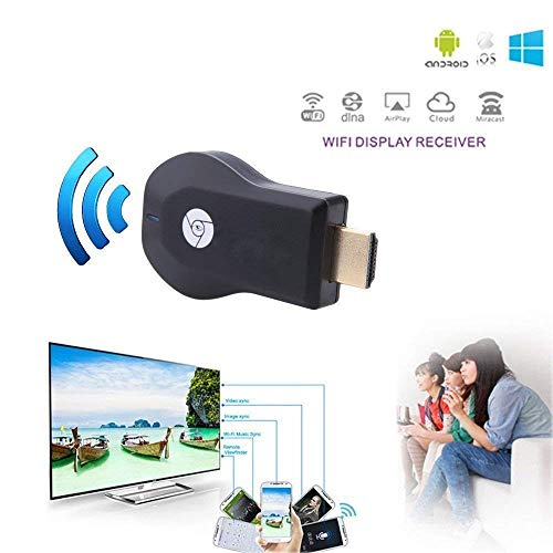 NEFI WiFi Wireless Display Dongle 1080P Wireless HDMI Screen Mirror WiFi Dongle Display TV Dongle Receiver 1080P Easy Sharing Wireless...