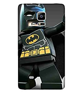 For Samsung Galaxy Note Edge :: Samsung Galaxy Note Edge N915Fy N915A N915T N915K/N915L/N915S N915G N915D Cartoon, Black, Cartoon and Animation, Printed Designer Back Case Cover By CHAPLOOS