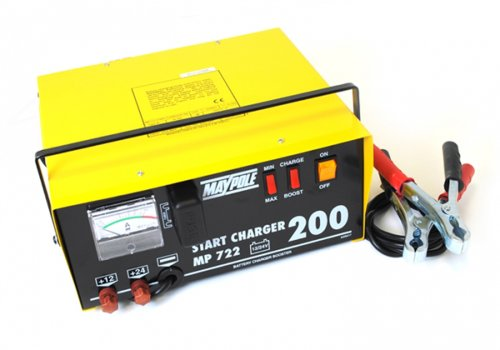 Maypole 722 Max Start Chargeur, 12/24 V, 20/230 A